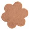 Metal Blank 24ga Copper Flower 22mm No Hole